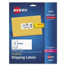 Avery Shipping Labels For Laser Printers - 5263