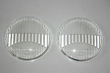 FOR VW KARMANN GHIA TYP 34 SET HELLA FOG LIGHT LENSES GLASS 85783 NEW