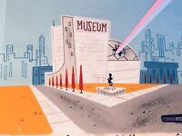 Powerpuff Girls Original Production Cel Animation Cel Original Background