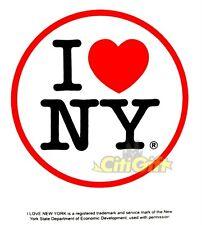 CLASSIC I LOVE NY BUMPER STICKER DECALS NY NEW YORK SOUVENIR