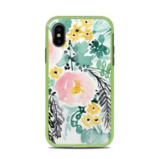 Skin for LifeProof SLAM iPhone X - Blushed Flowers - Sticker Decal