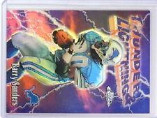 1997 Topps Chrome Season's Best Refractor Barry Sanders #6 *79022