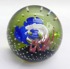 Caithness Limited Ed. Paperweight - Prelude -  Colin Terris - 1990