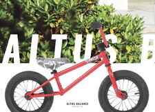 "2018 SUBROSA ALTUS BALANCE COMPLETE BMX BIKE BICYCLE 12"" SATIN FURY RED NEW"