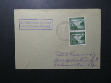 Germany DDR 1954 Event Cover w/ Semi Postal Pair - Z12222