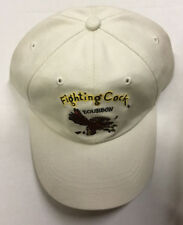 Fighting Cock Bourbon Gamecock Adjustable Ball Cap Hat 100% Cotton Canvas New