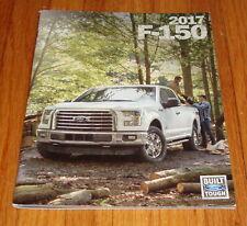 Original 2017 Ford F-150 Deluxe Sales Brochure XL XLT Lariat King Ranch Raptor