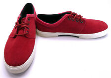 Polo Ralph Lauren Shoes Faxon Low II Suede Red Sneakers Size 9