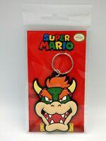 NINTENDO Keychain Super Mario porte-clés caoutchouc BOWSER 6 cm Neuf Key ring
