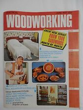 1972 JUNE Practical Woodworking Magazine  Vintage Adverts Hardwood Shelving