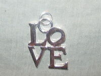 25MM Shiny Silver Tone Philadelphia Philly Love NY Pendant Charm Cord Necklace