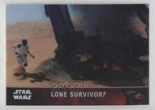 2016 Topps Star Wars: The Force Awakens Chrome Refractor #21 Lone Survivor? 1u6