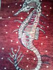 Oriental Rug. Hand-knotted. Pictorial of a sea dragon. Only one. Colors, Wow!!!!