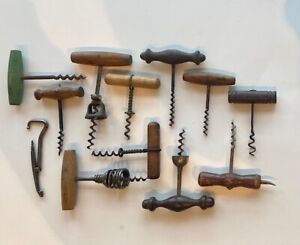 Dozen Antique Corkscrews