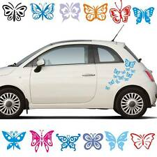 Schmetterlinge Butterfly Set Auto Aufkleber Sticker Autotattoo Hawaii A075