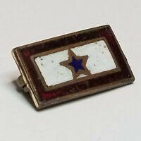 "Vintage ""Son in Service"" WWI US Home Front Blue Star lapel pin"