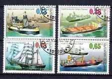 Bateaux Bulgarie (8) série complète de 4 timbres oblitérés