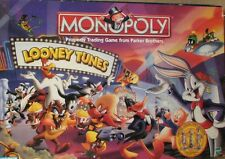 LOONEY TUNES Classic Cartoon Edition MONOPOLY Sealed Board Game Pewter Piece NEW