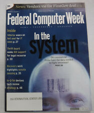 Federal Computer Week Magazine In The System & Hill Support January 2002 071415R