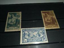 Free shipping *France 3 Stamps Old.