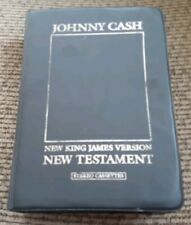 The Spoken Word - New Testament -14 cassettes Johnny Cash Audio Book The Bible