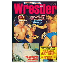 10+Rare Vintage Victory Sports Series The Wrestler July 1973 Jerry Brisco Match