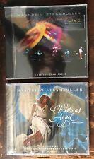 Mannheim Steamroller 2 CDs Live & Christmas Angel/Olivia Newton-John New/Sealed!