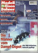Modell Eisenbahner Februar 2001