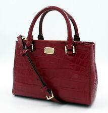 NWT Michael Kors S. Kellen Cherry Embossed Leather Satchel + 25% off next order*