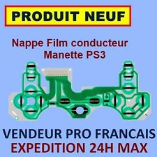 ✖ NAPPE FILM CONDUCTEUR BOUTONS MANETTE PS3 DUALSHOCK ✖ NEUF EXPEDITION 24H ✖