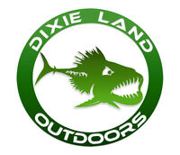 Dixie Land Outdoors Bass fishing t shirt,lunker,fresh water,lure,baitcaster,reel