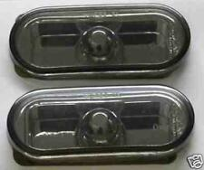 VW Bora 1998 on Black Smoked Mirror Side Repeaters 1 Pair inc bulbs