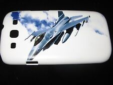 USAF Hard Cover Case for Samsung S3 III Air Force F16 Fighter Jet In the Sky