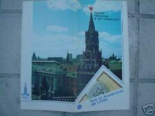 Reise Prospekt UdSSR 1980 Olympiade CCCP russia