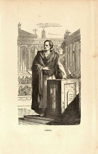 CICERONE CICERO - ORATORE FILOSOFO FILOSOFIA PHILOSOPHY Incisione Originale 1800