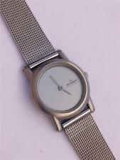 Skagen Denmark 4SSS Gray Dial Stainless Steel Mesh Band Women's Quartz Watch