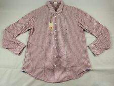 "BNWT Hugo Boss ""ColumbiaE"" Striped Dress Shirt Size XXL 100% Authentic"