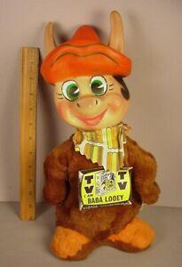 "Baba Looey 14"" Cartoon Toy vinyl toy figure Hanna Barbera stuffed Knickerbocker"