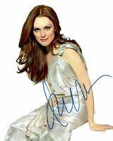 JULIANNE MOORE signed Autogramm 20x25cm BIG LEBOWSKI In Person autograph COA
