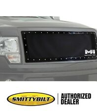Smittybilt M1 Wire Mesh Grille 08-10 Ford F250 & F350 Super Duty 615830 Black