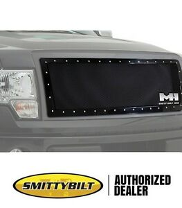 Smittybilt M1 Wire Mesh Grille Black For 08-10 Ford F250 F350 Super Duty 615830