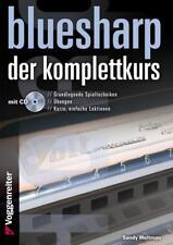 Bluesharp der Komplettkurs mit CD - Sandy Weltman