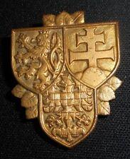 Czech Republic Prague Castle Guard CSFR Military Army Badge Czechoslovakia