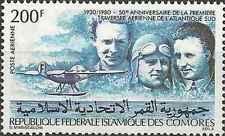 Timbre Aviations Avions Comores PA182 ** lot 15235
