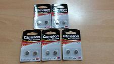 10 Stück Batterien Camelion Knopfzellen Plus Alkaline AG7 LR926 LR57 195 395