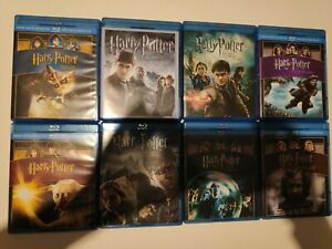 Harry Potter saga complète en blu-ray 8 films du coffret collector