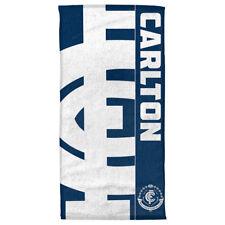 AFL CARLTON BLUES BEACH/BATH TOWEL - BRAND NEW