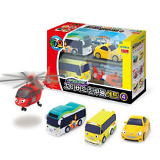 The Little Bus TAYO Friends Special Ver.4 Mini car (Air, Peanut, Kinder, Shine)
