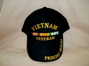 Vietnam War Veteran, 100% Cotton with the Ribbon
