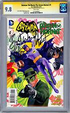 BATMAN '66 MEETS THE GREEN HORNET #1 CGC-SS 9.8 SIGND ADAM WEST & BURT WARD 2014